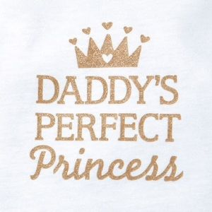 One Pieces - 👑 Daddy's Perfect Princess Tutu Graphic Bodysuit